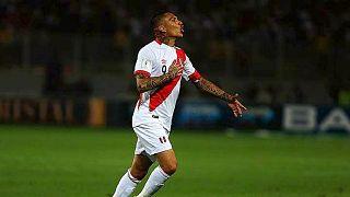Perulu futbolcuya kokainden 1 yıl men