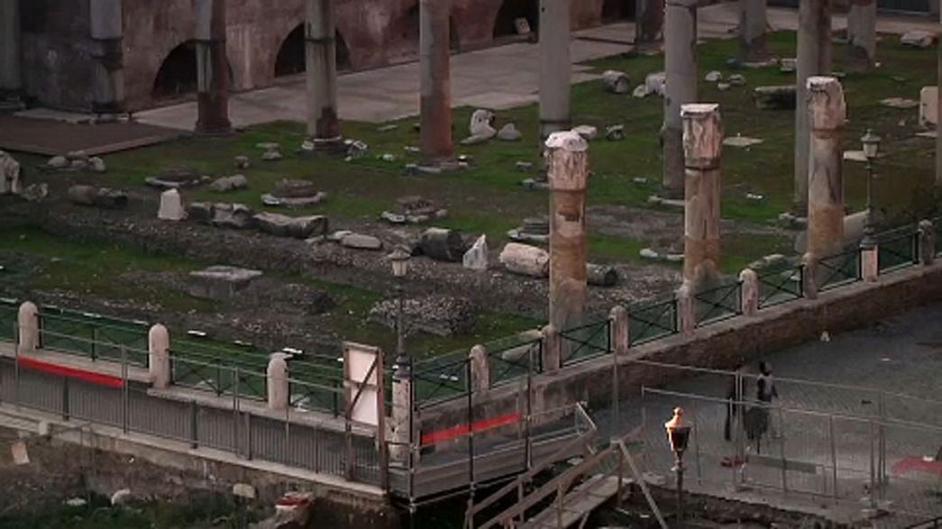 Traianus-kiállítás nyílik a Forum Traianin