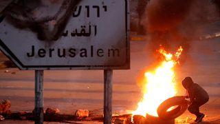 Dos palestinos muertos en los enfrentamientos del Viernes de la Ira