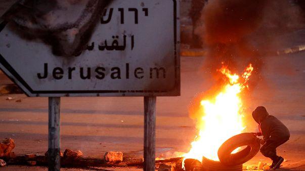 Jerusalem-Streit: Unruhen in Palästinensergebieten