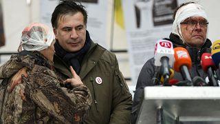 Saakaşvili tekrar gözaltında