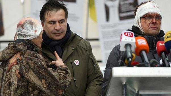 Harmadszorra sikerült elfogni az ukrán rendőröknek Szaakasvilit