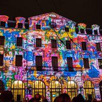 Lyon brilla en su 'Fiesta de las Luces'