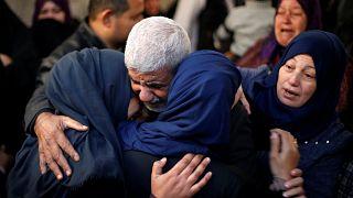 Акции протеста палестинцев
