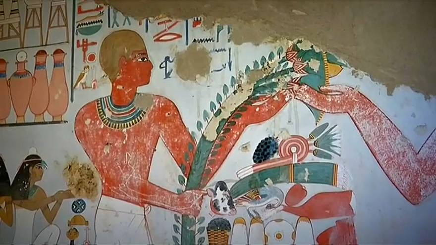 Ancient tombs uncovered in Egypt