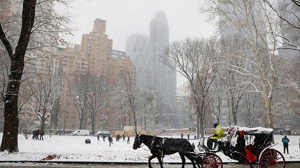 Zum 2. Advent Schnee in Berlin, New York und anderswo - 10 Tweets