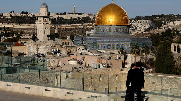 Violent protests rise in Mideast over US Jerusalem embassy move