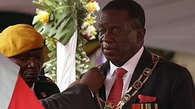 Zimbabwe president names new head of state intelligence outfit