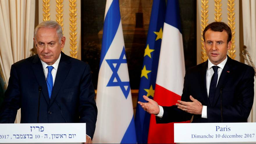 Francia-izraeli csúcs Jeruzsálemről