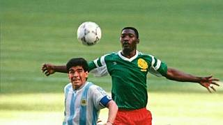 Ex-Cameroon player credited with World Cup's 'worst tackle' dies