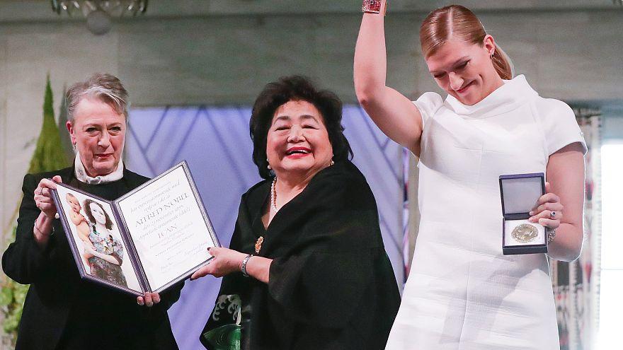 Nobel Barış Ödülü ICAN'e törenle verildi