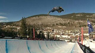 Kim e Hirano impõem-se na Taça do Mundo de Snowboard Halfpipe