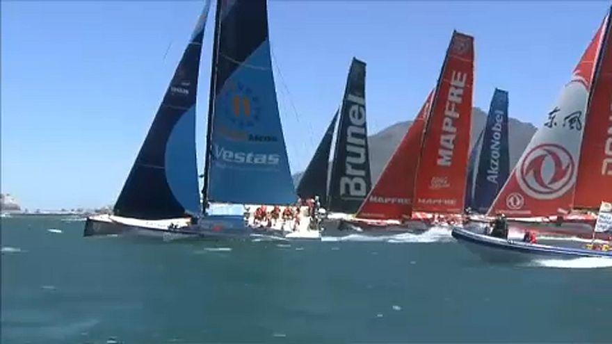 Volvo Ocean Race: Кейптаун - Мельбурн