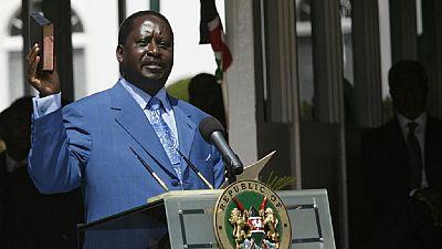 Kenya opposition postpones Odinga's December 12 swearing in