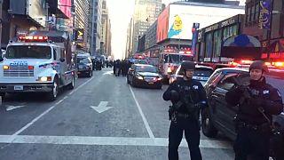 New York'ta bombalı saldırı teşebbüsü