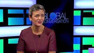 Margrethe Vestager: si no se controla el lado negativo del gran volumen de datos, existe el riesgo de una respuesta negativa