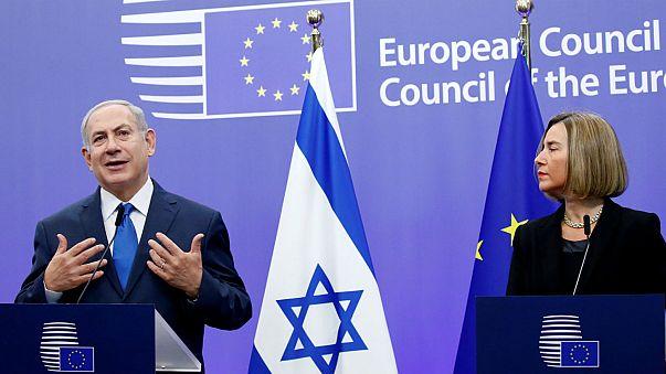 Netanjahu Jeruzsálem uniós elismeréséért lobbizott