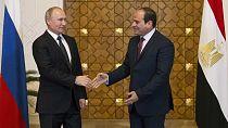 Poutine en Egypte : contrat nucléaire, discussions sur Jérusalem