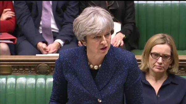 """May cree posible un 'brexit' """"suave y ordenado"""" gracias al principio de acuerdo con Bruselas"""