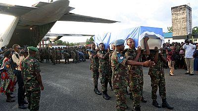 L'ONU promet justice après l'attaque qui a tué 15 Casques bleus en RDC