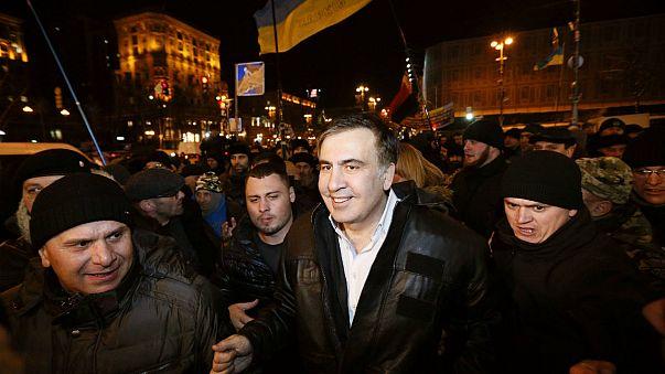 Justiça ucraniana deixa Saakashvili em liberdade