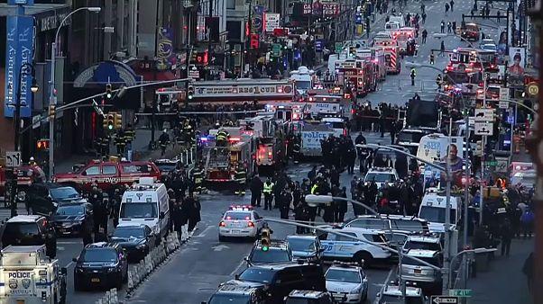 Attentat à New York : le suspect blessé et arrêté