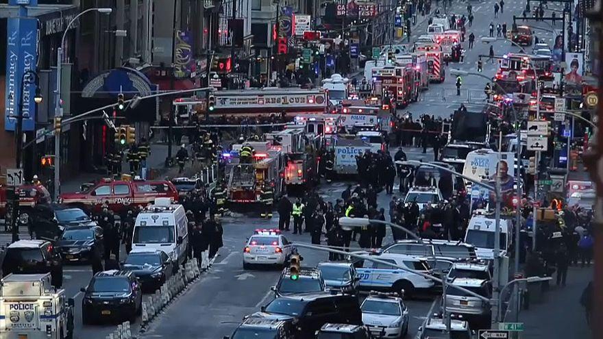 Anschlag in New York: mehrere Leichtverletzte