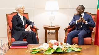 IMF chief Lagarde starts Africa tour in Benin, forecasts 6% growth