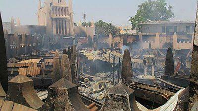 Mali : un incendie ravage le marché central de Bamako