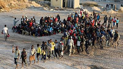 E.U. united on African migration curbs, divided over hosting refugees