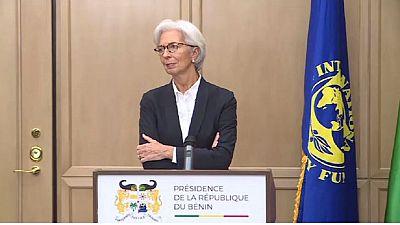 Visite de la directrice générale du FMI au Bénin