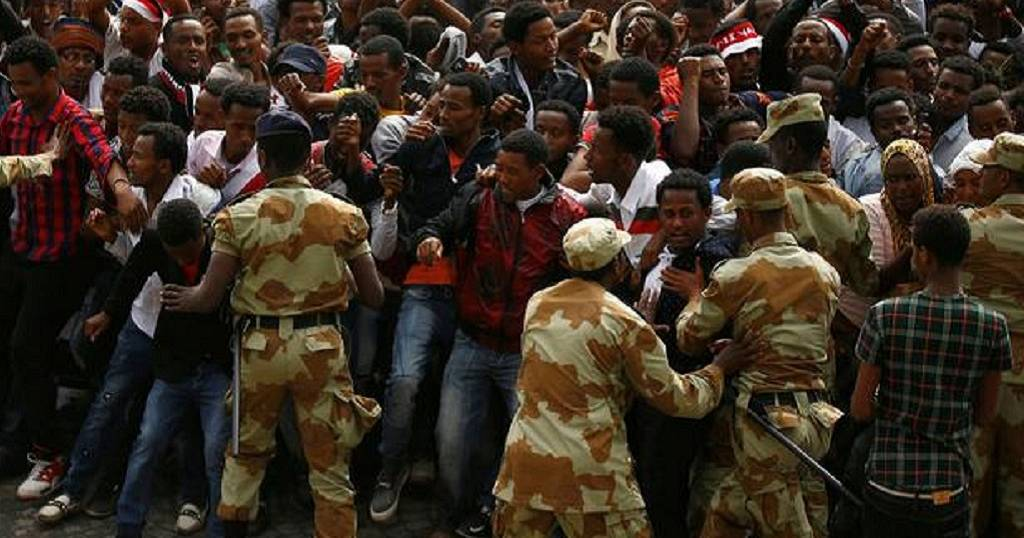Unrest in Ethiopia's Oromia region, federal forces blamed