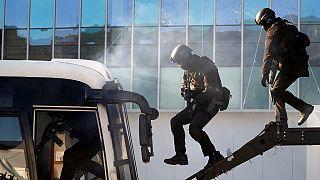 JO d'hiver 2018 : la Corée du Sud procède à des exercice de sécurité