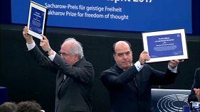 Venezuela's opposition awarded Sakharov Prize