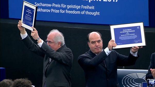 Le prix Sakharov pour l'opposition vénézuélienne
