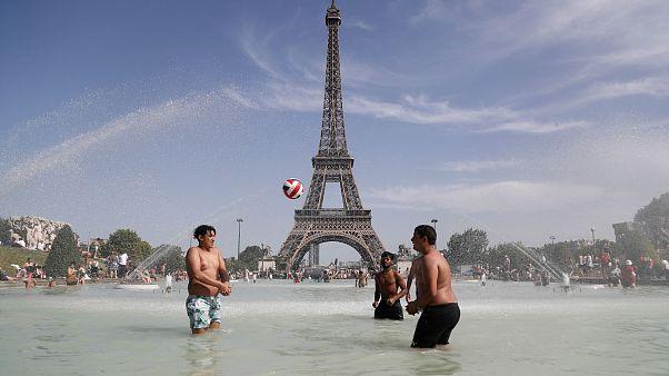 Image: France heatwave