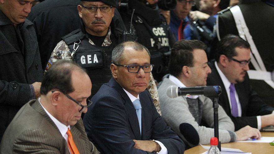 Caso Odebrecht: Vice-presidente do Equador condenado a seis anos de prisão