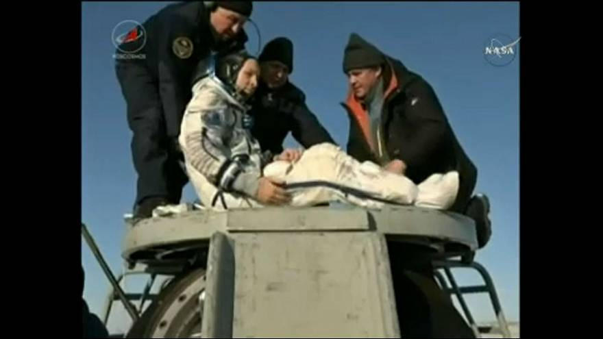 Sikeres visszatérés az ISS-ről