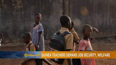 Guinée: Les enseignants veulent la fin de la précarité [The Morning Call]