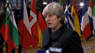 Brexit:Theresa May in Brüssel enttäuscht, aber optimistisch