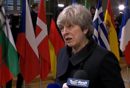 Trotz ihrer Niederlage im britischen Unterhaus hat sich Theresa May in Brüssel optimistisch zum Fortschritt der Brexitverhandlungen geäußert