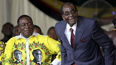 Zimbabwe president to name Mugabe-era looters in March 2018 if...