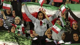 Image: Iran Soccer fans
