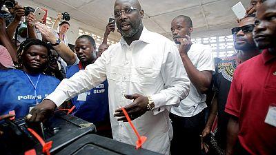 Liberia : un grand parti d'opposition soutient George Weah