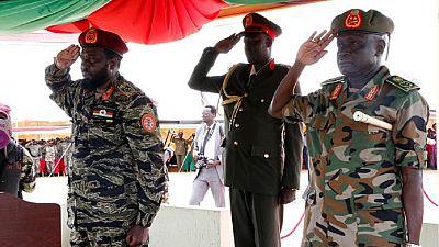 South Sudan's Kiir promotes three generals facing U.N. sanctions