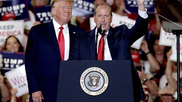 Image: DOnald Trump, Dan Bishop