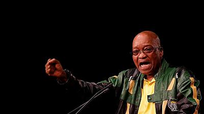Jacob Zuma calls for party unity as ANC elects a new leader