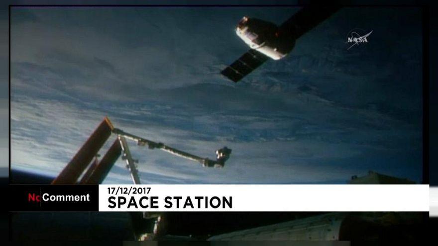 Így kapcsolódott a Nemzetközi Űrállomáshoz a SpaceX Dragon