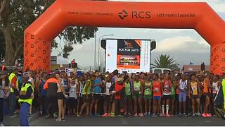 "Cape Town runners celebrate Day of Reconciliation with ""Race for Unity"""