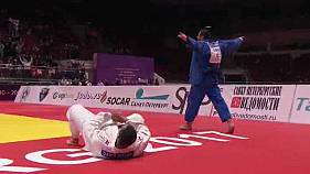 Geórgia termina em alta o World Masters de Judo de São Petersburgo